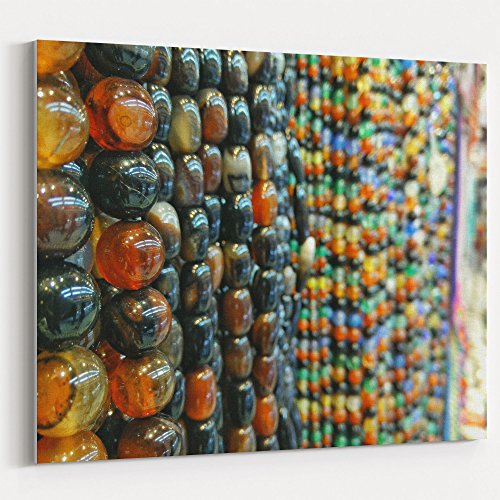 - Westlake Art - Chocolate Bead - 16x20 Canvas Print Wall Art - Canvas Stretched Gallery Wrap Modern Picture Photography Artwork - Ready to Hang 16x20 Inch (375A-B4785)
