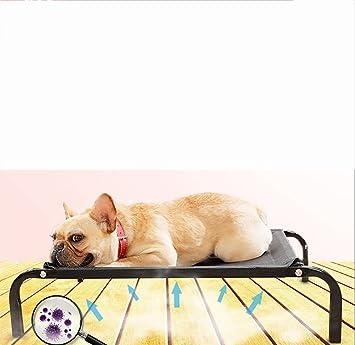 MEIQI Cuna De Perro | Cama Elevada para Mascotas | Malla ...