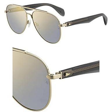 Amazon.com: anteojos de sol trapo & Hueso RNB 5003/S 0J5G ...