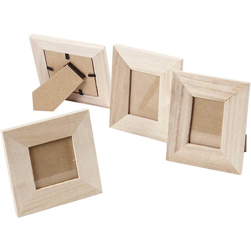Rahmen, B: 9+10 cm, Kaiserbaum, 4sort., Lochgröße 4x6+5x5 cm: Amazon ...