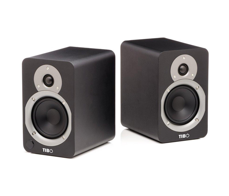 Black TIBO Plus 3 Active Bluetooth Speakers