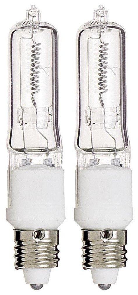 JDE11 120v100w Halogen JDE11 100w Bulb 3000k Warm White 100 Watt 2 Pack Solray