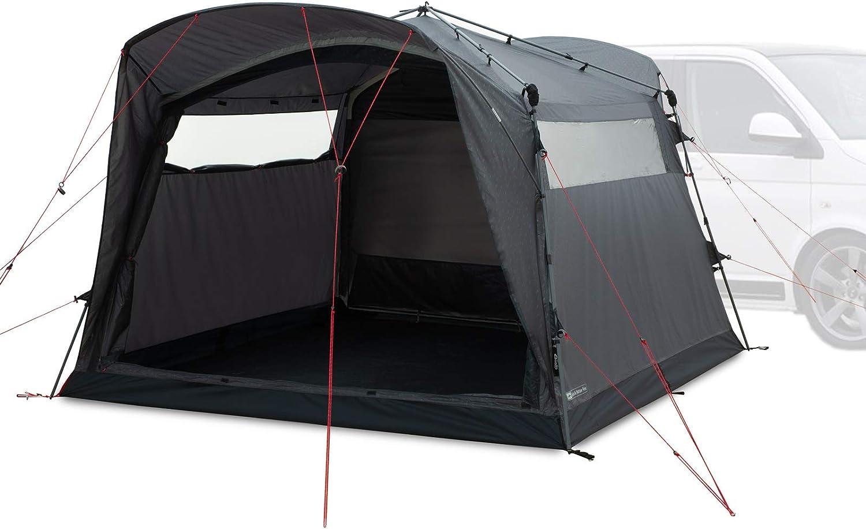 Qeedo Quick Motor Free Busvorzelt Freistehend Campingzelt Mit Quick Up System Als Vorzelt Für Campingmobil Camper Sport Freizeit