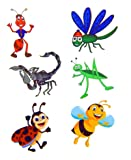 Temporary butterfly tattoos free shipping for Grasshopper tattoo supply
