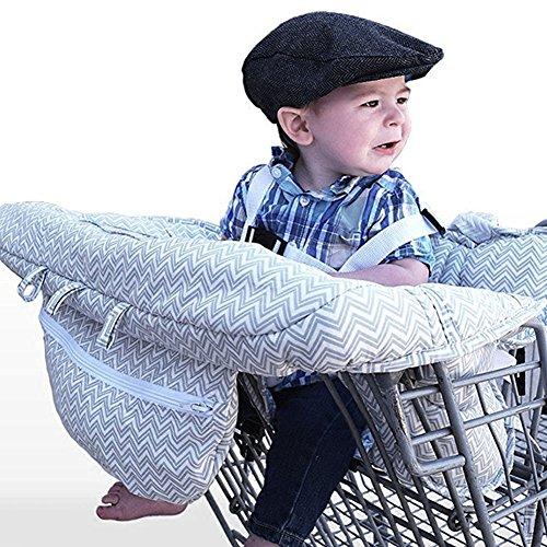 LeRan - Fundas de asiento ajustables para bebé supermercado ...