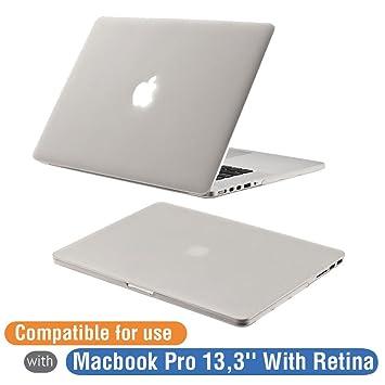 Funda MacBook Pro 13, Orzly - SnapShell Cover para MacBook Pro 13,3 Pulgadas Modello (2012-2015 RETINA DISPLAY Versiones) - Funda Protectora en Semi ...