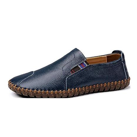Hy Calzado Casual para Hombre, Suela de PU Artificial, Mocasines y Zapatillas sin Cordones