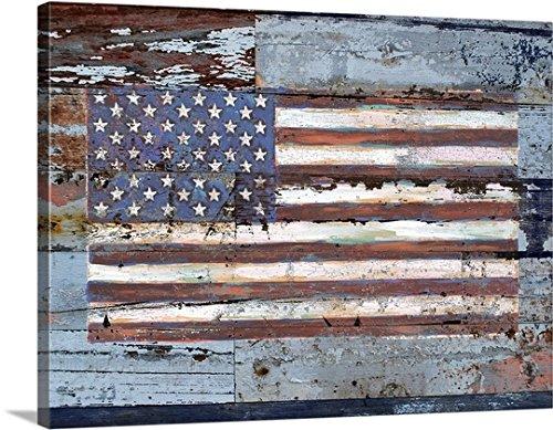 Lori Siebert Premium Thick-Wrap Canvas Wall Art Print entitled American Flag 40