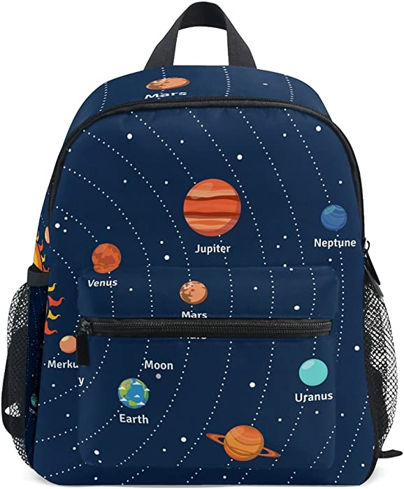 Amazon.com   LORVIES Educational Solar System Orbits And Planets Mini Kids  Backpack Pre-School Kindergarten Toddler Bag   Kids  Backpacks 10ec0bdb55