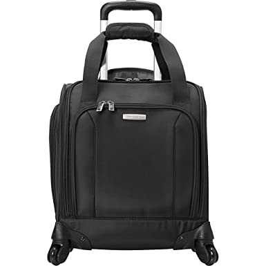 05ab031766b Amazon.com | Spinner Underseater with USB Port Black | Carry-Ons