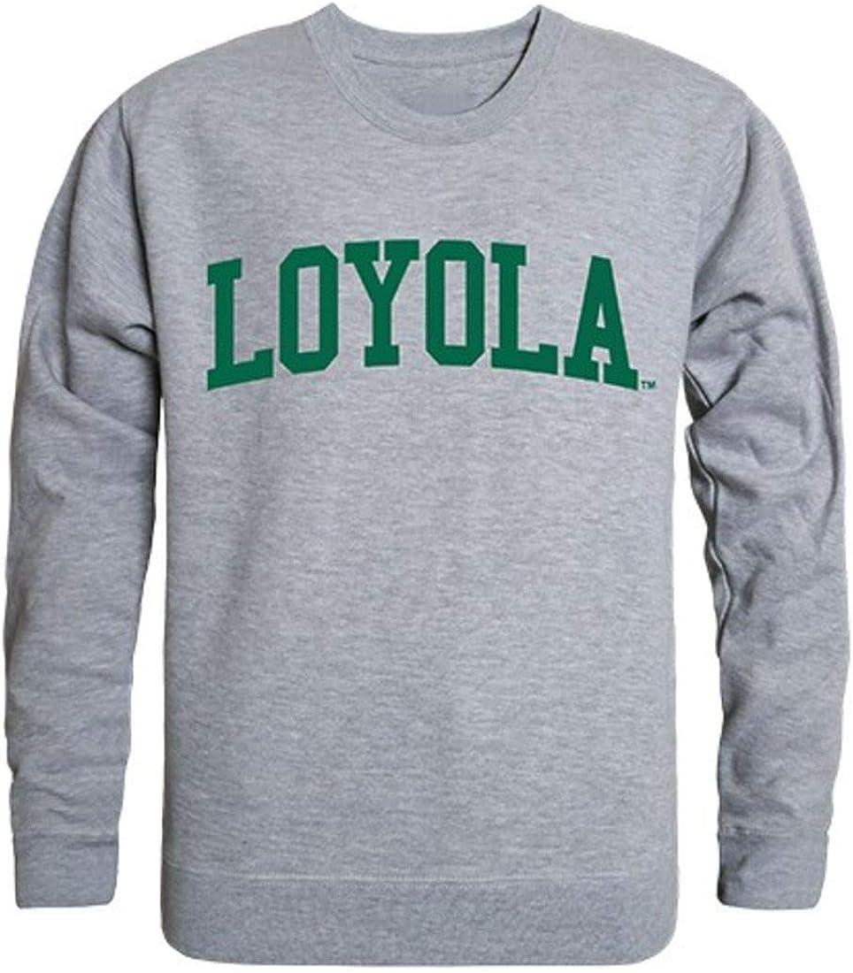 Loyola University Maryland Game Day Crewneck Pullover Sweatshirt Sweater