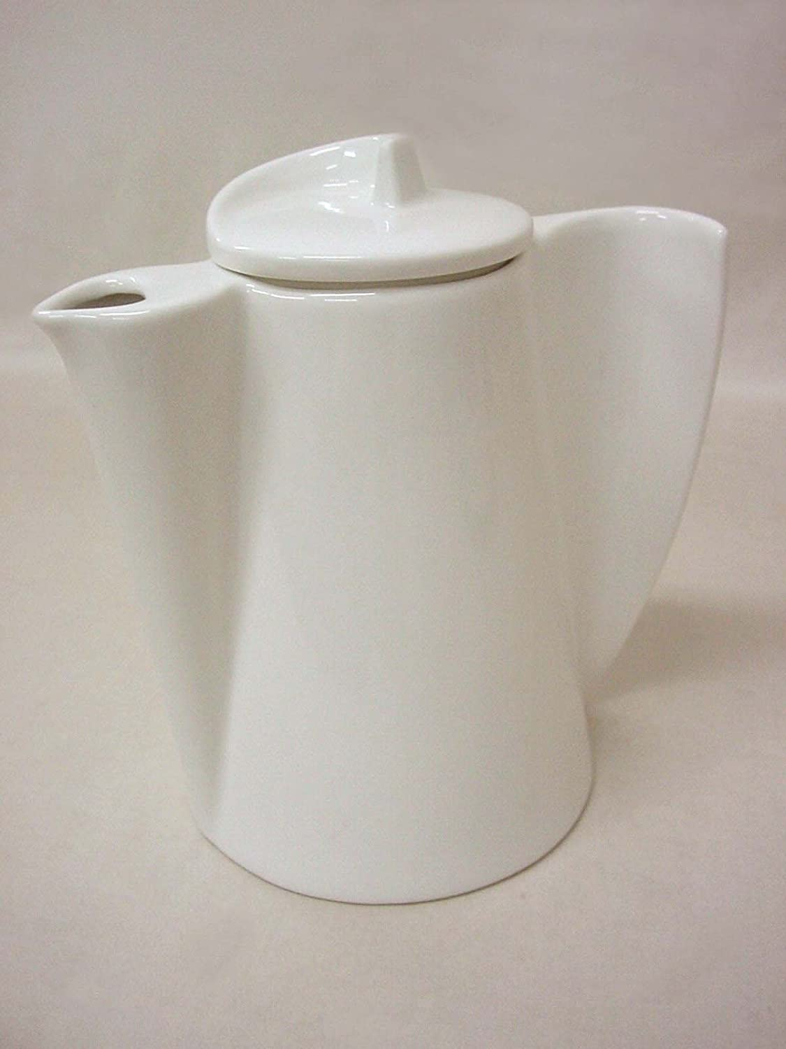 CAFETERA TETERA ONDA 880ML PORCELANA BLANCO: Amazon.es: Hogar