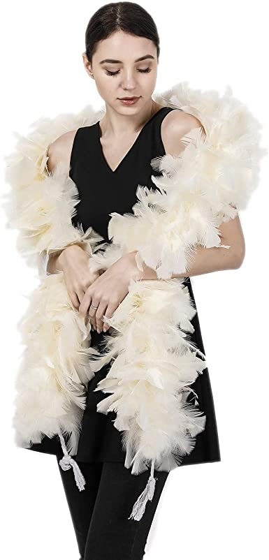 New Chandelle Boa Heavyweight Various Colors and Lengths Costuming Raw Goods