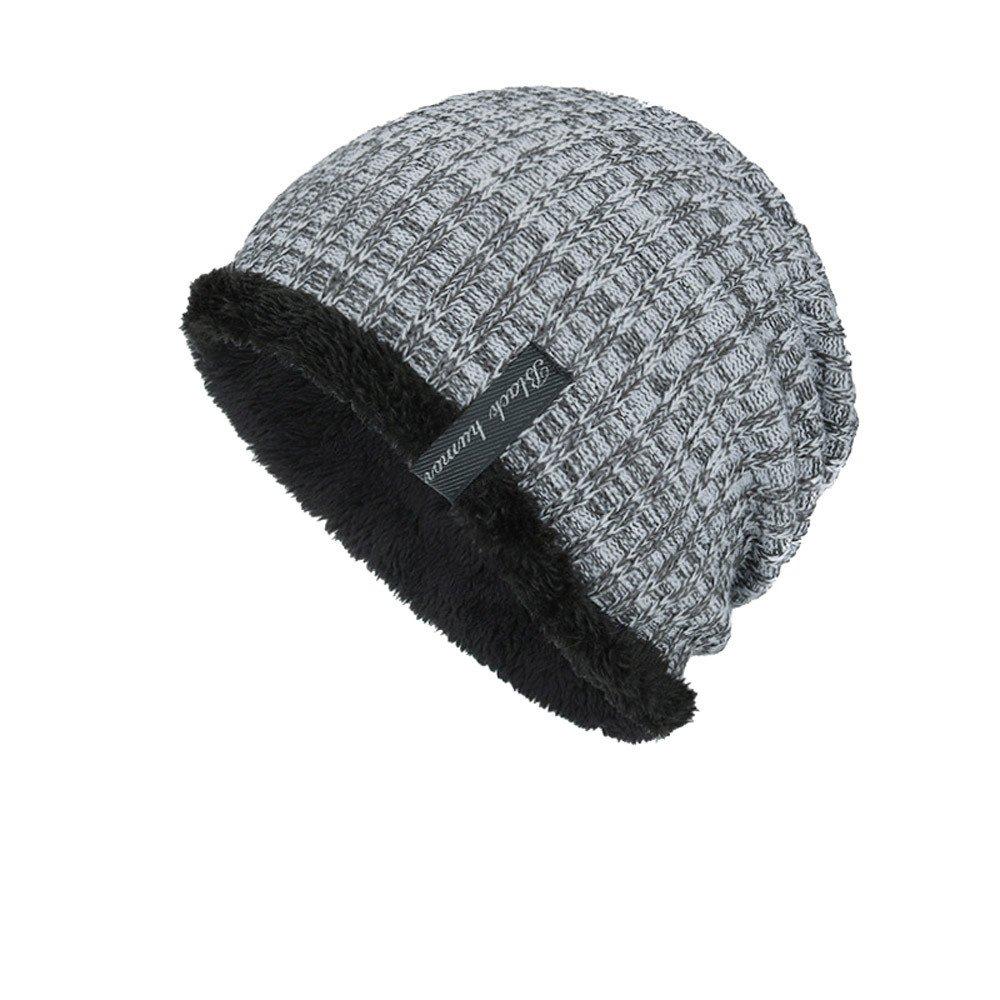 con Cappuccio e Cappello WUDUBE 2019 Nuovo Uomo Donna Cappellino per Cappello Invernale Caldo alla Moda