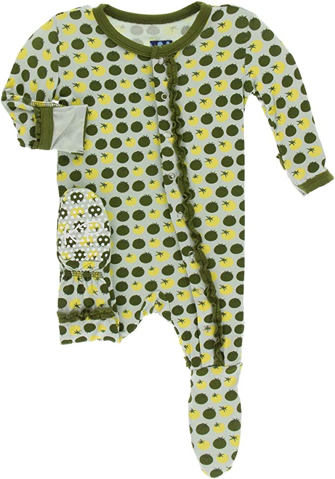 JunNeng Baby Toddler Thicken Fleece Lined Footed Romper Snowsuit with Gloves,Winter Cartoon Animal Snow Wear Jumpsuit Outfit