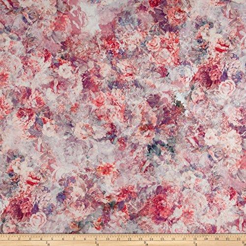 (E.Z Fabric Minky Mona Fabric by The Yard, Pink)