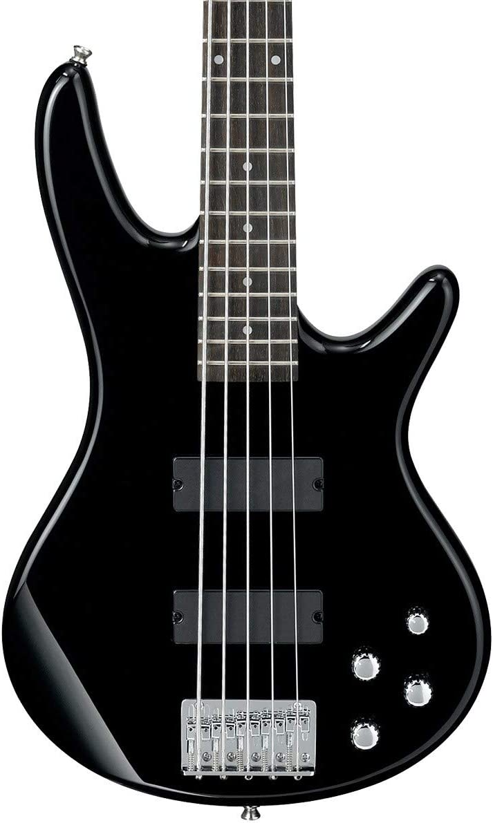 Ibanez GIO Series GSR205-BK Electric Bass Guitar with Bass Boost 5 String Black