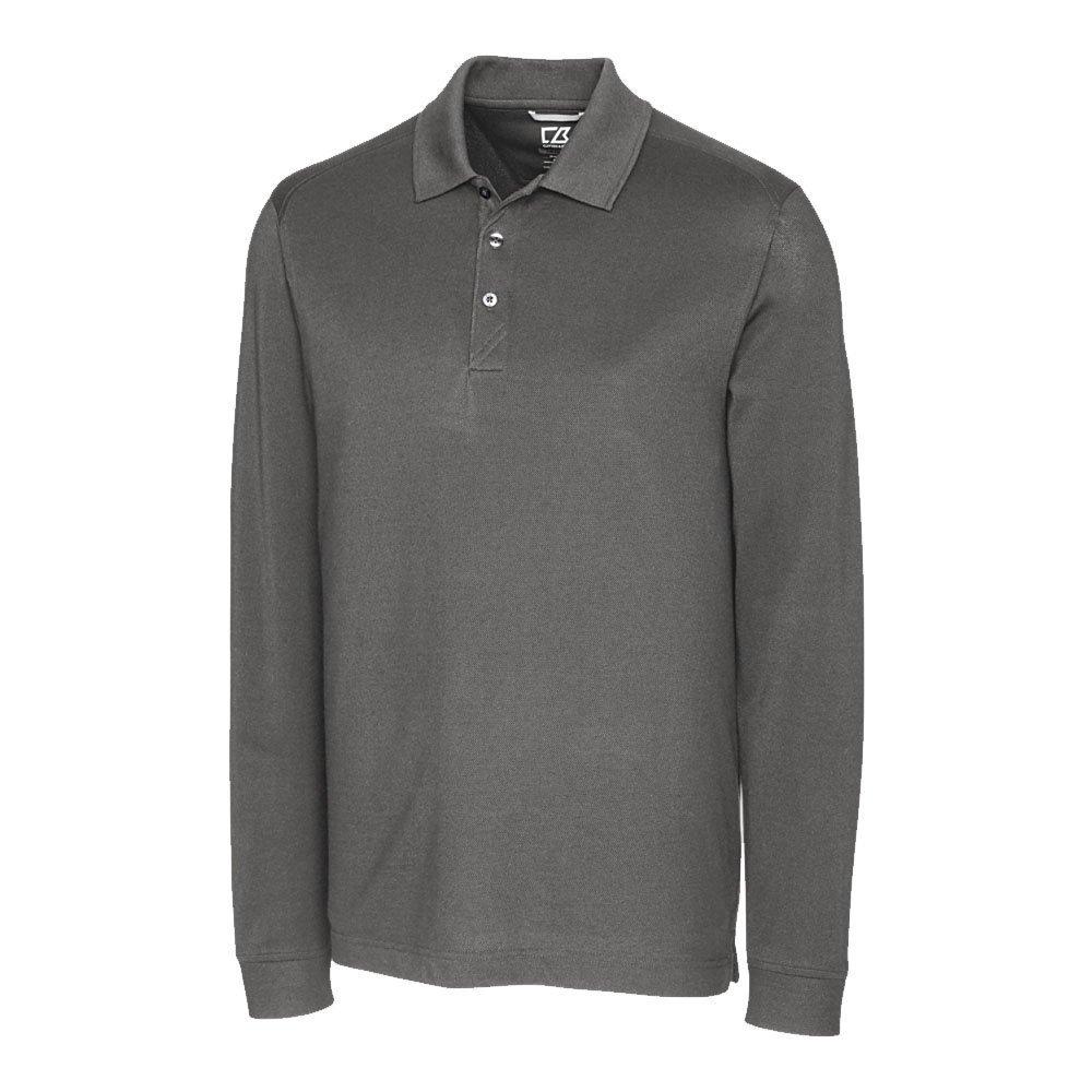 Cutter & Buck Men's Big & Tall 35+UPF, Long Sleeve Advantage Polo Shirt 20