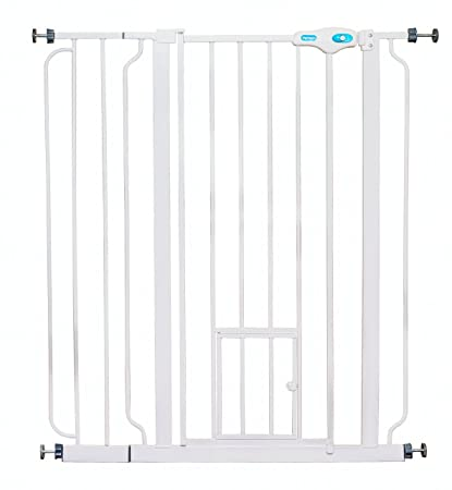 Amazon Carlson Extra Tall Pet Gate With Small Pet Door Pet