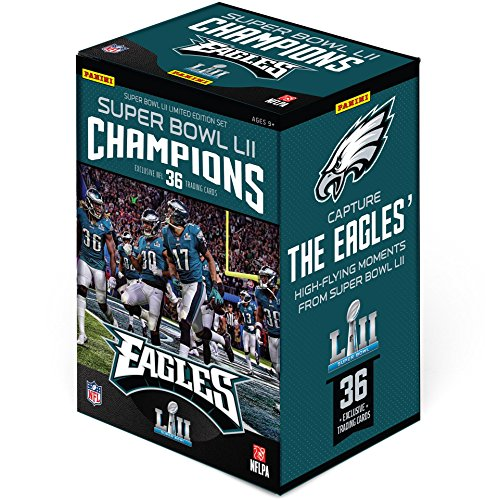 2017 Panini Instant Philadelphia Eagles Super Bowl LII Champions Complete Trading Card Set (36 Cards) - Fanatics Authentic Certified (Card Set Box Trading)