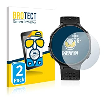 brotect Protector Pantalla Anti-Reflejos Compatible con Garmin Forerunner 235 (2 Unidades) Pelicula Mate Anti-Huellas