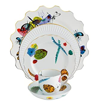 Vista Alegre Caribe Five Piece Place Setting by Christian Lacroix  sc 1 st  Amazon.com & Amazon.com | Vista Alegre Caribe Five Piece Place Setting by ...