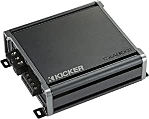 Kicker 46CXA8001 Car Audio Class D Amp Mono 1600W Peak Sub Amplifier CXA800.1 (Certified Refurbished)