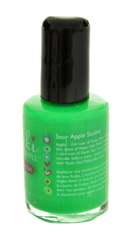 Amazon.com : Keeki Pure & Simple Nail Polish, Sour Apple Slushie, .5 ...