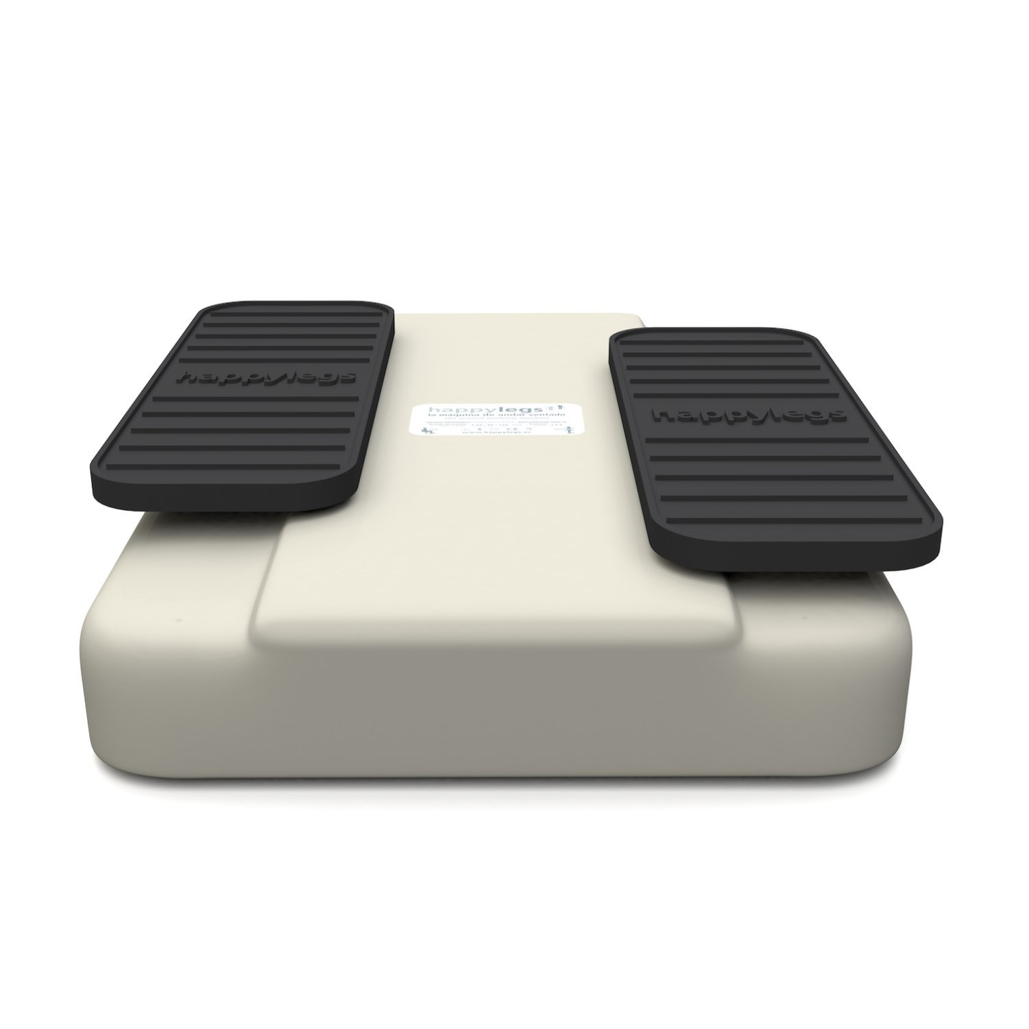 Happylegs New Model in White: The Genuine Seated Walking Machine with 3 Speeds. Official Patented System, made in Spain and registered by the FDA.