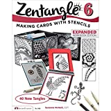 Zentangle 6, Expanded Workbook Edition: Making Cards with Stencils (Design Originals)