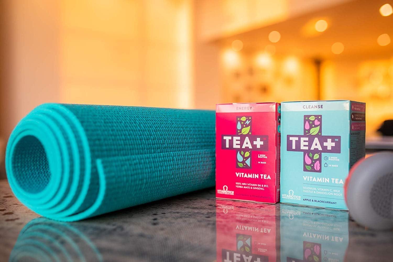 TEA+ (Tea Plus) - Cleanse & Energy - Té vitamínico - Bolsitas de ...