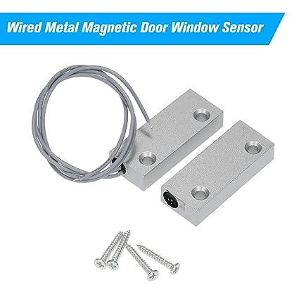 OWSOO Sensores de Puertas y Ventanas Detector Magnético para Sistema de Control de Acceso