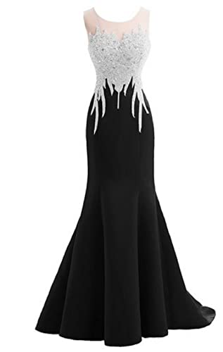 Felaladress Crystal Mermaid Sexy Backless Sparkly Long Prom Evening Dresses