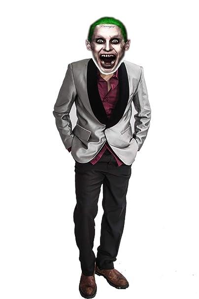 Nexthops El Joker Disfraces para Hombres Traje Completo Camisa Violeta  Cosplay de Escuadrón Suicida Adultos Disfraz de Alta Calidad  Amazon.es  Ropa  y ... c1ddfcf9c9d0