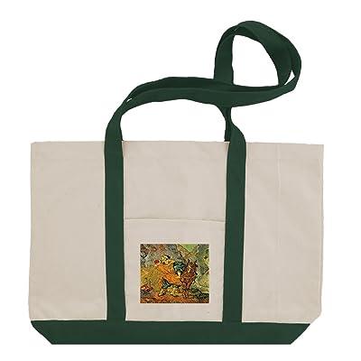 durable modeling Good Samaritan Delacroix (Van Gogh) Cotton Canvas Boat  Tote Bag Tote e0f0e7a4d1
