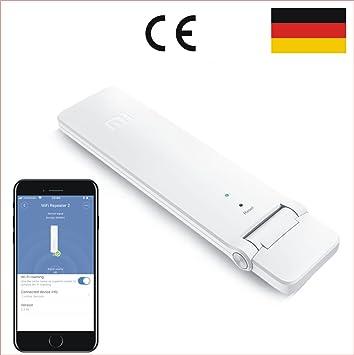 Mi Xiaomi WiFi Amplificador de señal 2 Wireless Repetidor Wifi Extensor WiFi Amplificador 2 USB Router