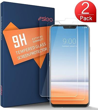 SLEO Protector de Pantalla para LG G7 / LG G7 ThinQ Cristal ...