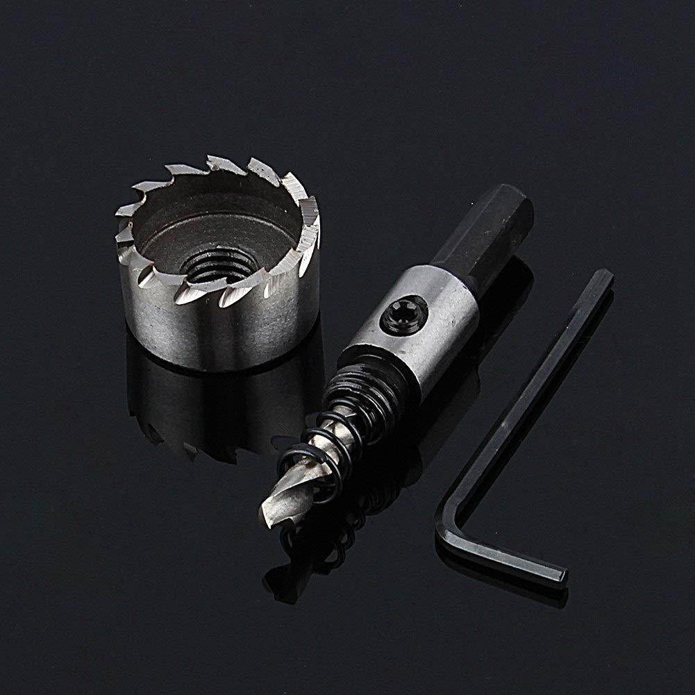 Fresa in Acciaio HSS per Punte da Trapano per impieghi gravosi in Acciaio Inossidabile 32mm Jadeshay Drill Bit Edizione : 20mm