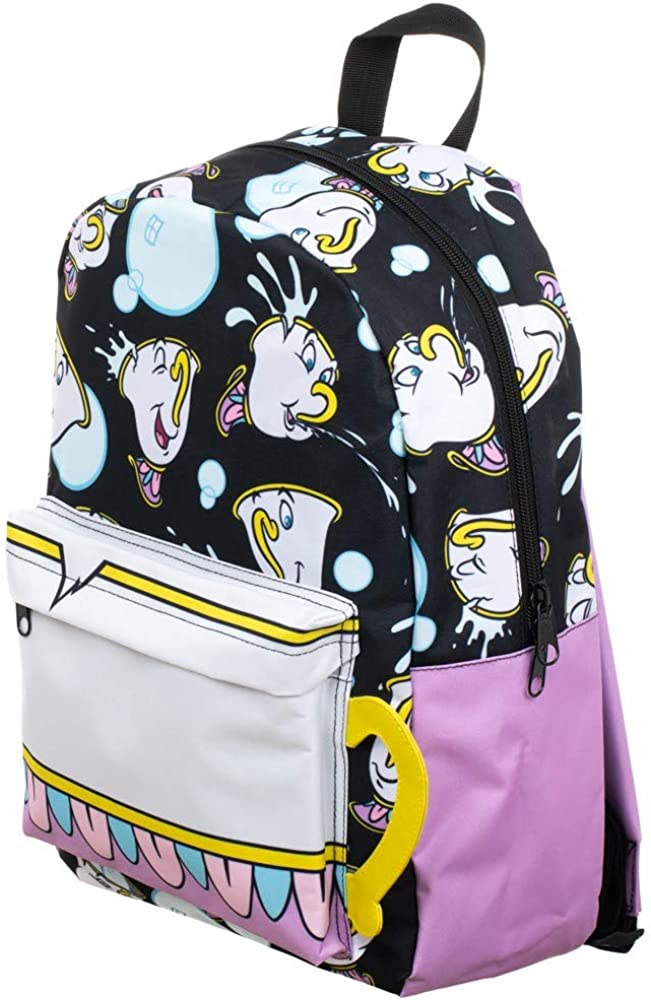 Chip Tea Cup Beauty and the Beast Backpack