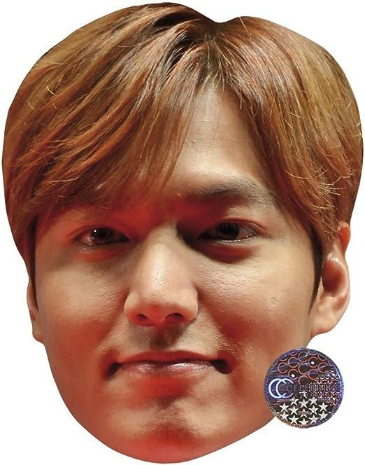 Card Face and Fancy Dress Mask Lee Min Ho Celebrity Mask