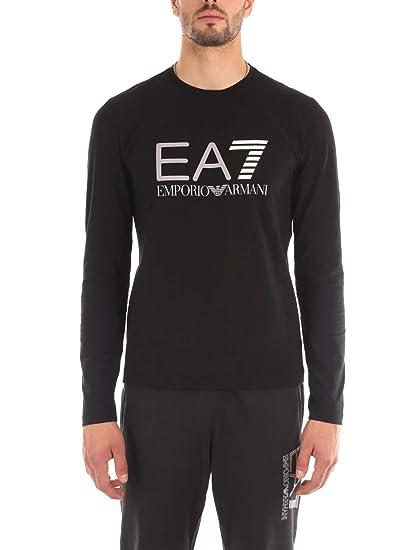 0ca2cd020923 Ea7 Armani Mens Long Sleeve T-Shirt: Amazon.co.uk: Clothing