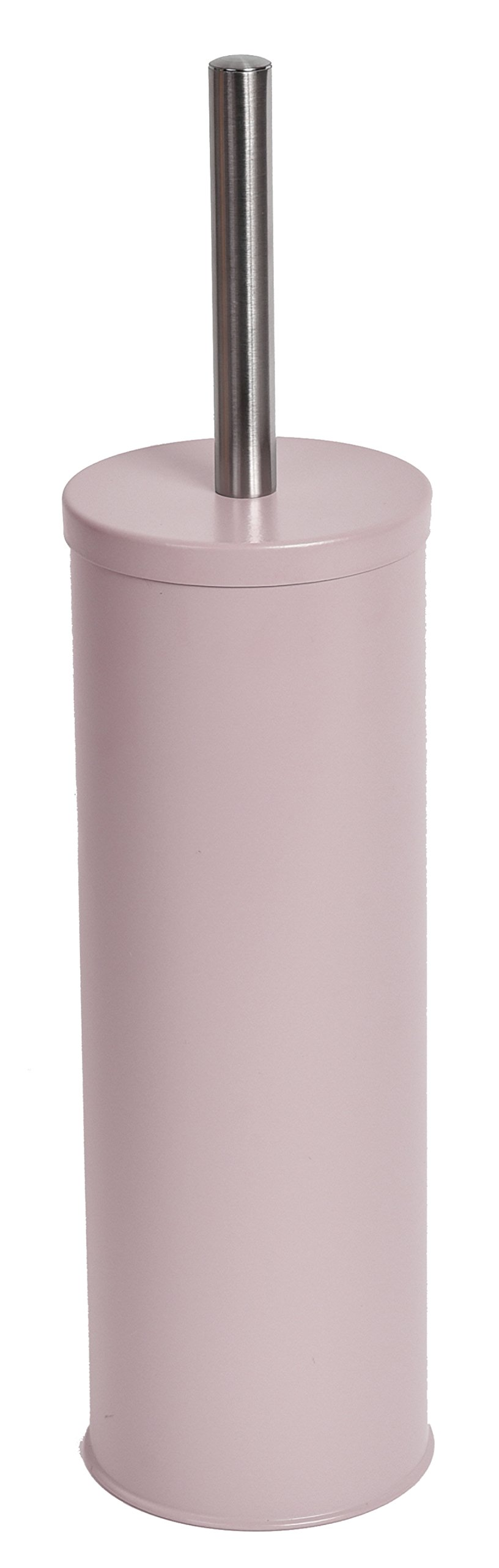 EVIDECO Free Standing Toilet Brush and Holder Color: Pale Pink