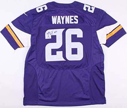 premium selection 5ae4c 4dc17 Trae Waynes Autographed Signed Vikings Nike Jersey - JSA ...