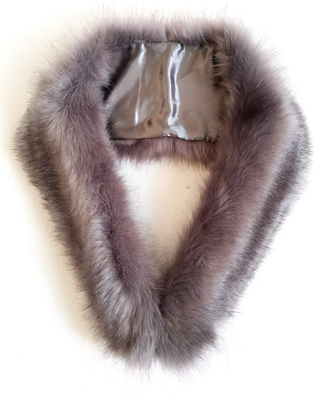 FHQHTH Faux Fur Neck Collar...