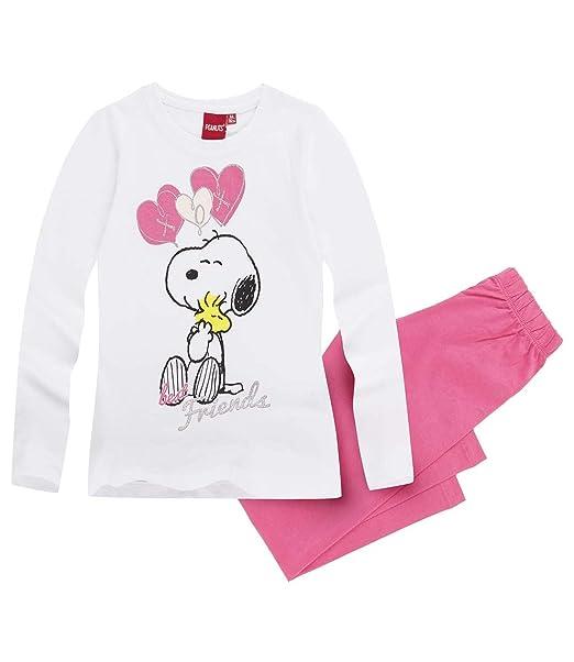 Snoopy Chicas Pijama - fucsia - 116