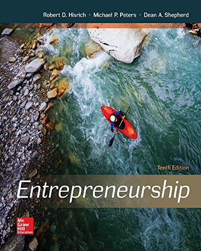 Entrepreneurship (Irwin Management)