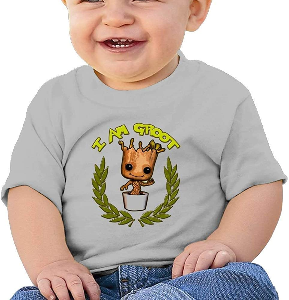 MYHL I Am Groot 11 Washed Cotton Baby Boy Shirt Cute Summer T Shirt Funny