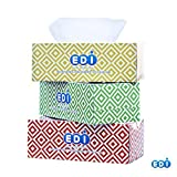 EDI Ultra Soft Strong White Facial Tissue 2-Ply 160 Ct. Box,3 boxes