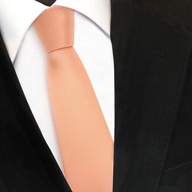 TigerTie - corbata estrecha - amarillo pálido amarillo de azufre ...