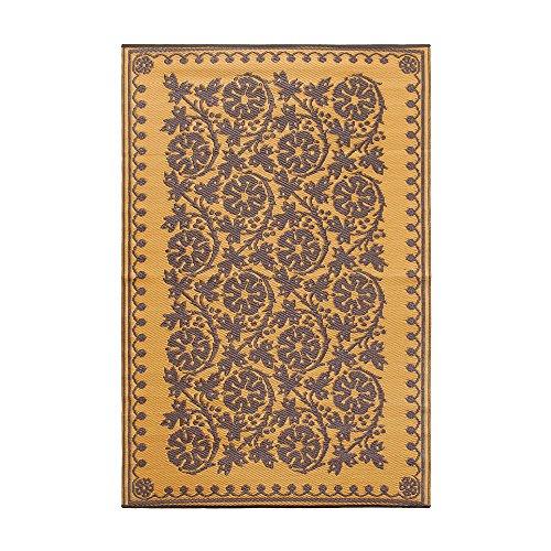 Achla Designs Cinquefoil Floor Mat, 4